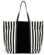 Zara Striped Shopper - Lyst