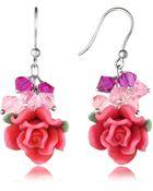 Dolci Gioie Rose Earrings - Lyst