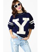 Nasty Gal Chromosome Knit - Lyst