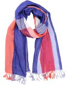 Xacus Oblong Scarves - Lyst