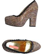 Manoush Platform Pumps - Lyst