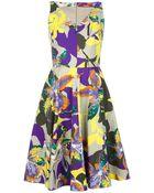 Max Mara Studio Floral Dress - Lyst