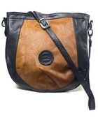 Solomon Appollo The Saddle Leather And Ponyskin Shoulder Bag - Lyst