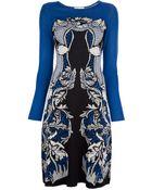Temperley London Floral Fine Knit Dress - Lyst