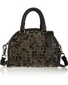 Christian Louboutin Panettone Small Spiked Leather Tote - Lyst