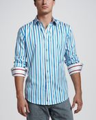Robert Graham Ishmael Striped Sport Shirt - Lyst