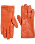 Maison Margiela Leather Gloves - Lyst