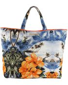 Stella McCartney Hawaiian Falabella Tote - Lyst