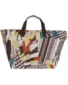 Ffi Fatta Fabbrica Italiana Large Fabric Bag - Lyst