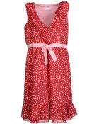 RED Valentino Short Dress - Lyst