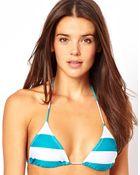 Asos  Micro Brazilian Triangle Bikini Top - Lyst