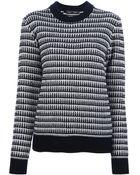 Proenza Schouler Striped Sweater - Lyst