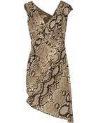 MICHAEL Michael Kors Kneelength Dress - Lyst