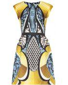 Peter Pilotto Alexa Silk Jacquard Dress - Lyst