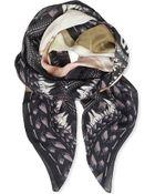 Givenchy Rottweiler Madonna Print Scarf - Lyst