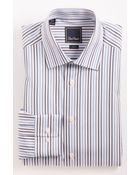 David Donahue Trim Fit Dress Shirt - Lyst