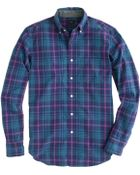 J.Crew Tartan Shirt in Rustic Purple - Lyst