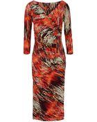 La Petite Robe Di Chiara Boni Knee-Length Dress - Lyst