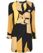 Marni Long Sleeve Shift Dress - Lyst