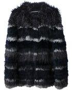 Sonia Rykiel Fox and Rabbit Fur Coat - Lyst