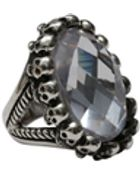 Femme Metale Jewelry Circle Of Skulls Ring - Lyst