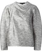 Alexander Wang Structured Sweatshirt - Lyst
