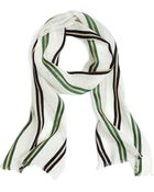 Brooks Brothers Wide Stripe Scarf - Lyst
