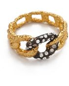Alexis Bittar Chain Link Ring - Lyst