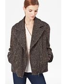 French Connection Trumph Tweed Jacket - Lyst