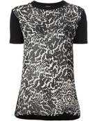 Giambattista Valli Leopard Print Top - Lyst