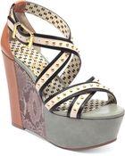 Jessica Simpson Georg Platform Wedge Sandals - Lyst