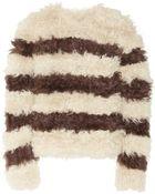 Thakoon Striped Kalgan Lamb Sweater - Lyst