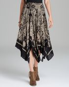 Free People Skirt Printed Voile Fly Away - Lyst