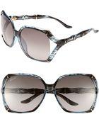 Gucci 58Mm Oversized Sunglasses - Lyst