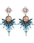 DANNIJO Odessa Earrings - Lyst