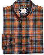 Brooks Brothers Ancient Kid Flannel Sport Shirt - Lyst