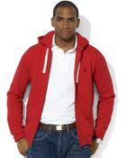 Polo Ralph Lauren Core Full Zip Hooded Fleece - Lyst
