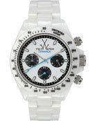 Toy Watch White Ceramic Chronograph Watch - Lyst