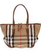 Burberry London Tote Bag - Lyst