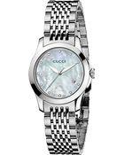 Gucci Ya126504 G-Timeless Collection Stainless Steel And Diamond Watch - For Women - Lyst