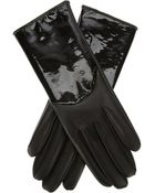Giorgio Armani Leather Gloves - Lyst