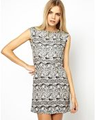 Won Hundred Jen Dress with Zip Detail To Back - Lyst