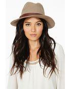 Nasty Gal Raquel Panama Hat - Lyst