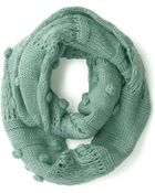 ModCloth Mint To Charm Circle Scarf - Lyst