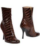 Giuseppe Zanotti Ankle Boots - Lyst