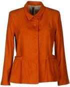 Simonetta Ravizza Leather Outerwear - Lyst
