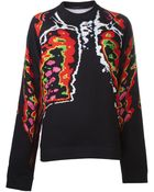 Christopher Kane Ribcage Sweater - Lyst