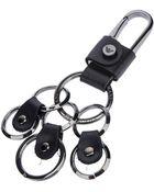 Emporio Armani Multiring Keychain - Lyst