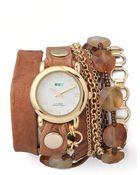 La Mer Collections Sedona Stones Watch - Lyst