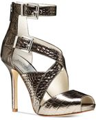 Michael Kors Tamara Ankle Strap Sandals - Lyst